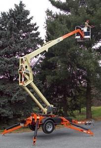 35 Foot Towable Boom Lift Rental Jlg T350 171 Equipment