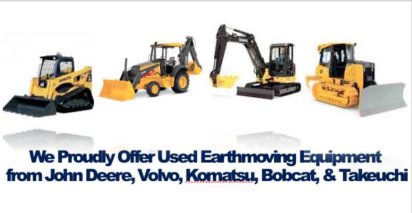 Buy Used Earthmoving Equipment in Rocheser NY Ithaca NY