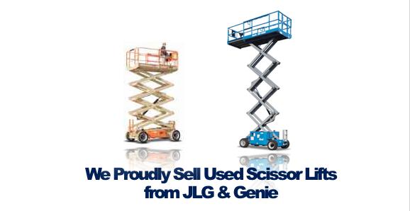 Buy Used Scissor Lifts JLG Genie Rochester NY Ithaca NY