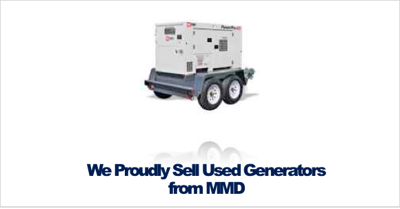 Used Generators in Rochester NY and Ithaca NY from MMD