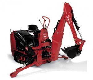 Backhoe Attachment Rental - Toro Dingo
