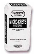 Micro-Crete Micro-Topping by Increte Systems