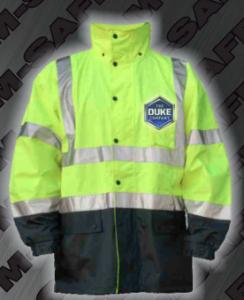 Safety Rain Jackets - ANSI 107-2010 Class 3 Rain Jacket