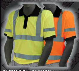 Safety Shirts - ANSI Class 3 Polo Shirt