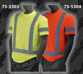 Safety T-Shirt - ANSI Class 3 T-Shirts