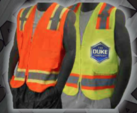 Safety Vests - ANSI Class 2 Surveyors Vest