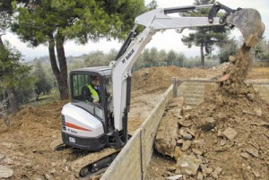 Picture of Bobcat E35 Mini Excavator Rental
