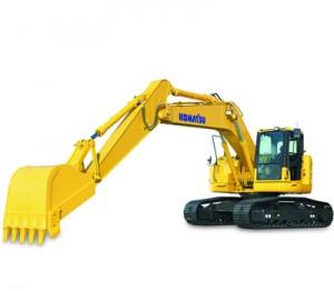 Picture of Rent Excavator - Komatsu 228 PC USLC-8
