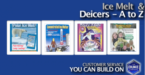 Picture of Ice Melt and Deicers Available from the Duke Company in Rochester NY, Ithaca NY and Wetsern New York
