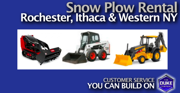 Picture of Snow Plow Rental in Rochester NY, Ithaca NY and W. NY