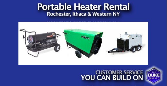 Picture of Portable Heat Rental in Rochester & Ithaca NY